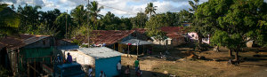 Las Canas, Dominican Republic: Beginning in 2014, the 7 Elements (7E) is one of Timmy's newest relationships. Dr. David Addison, founder and executive director of 7E, traveled to the Dominican Republic to complete his Ph.D. in sustainability. He witnessed a number of adverse conditions hindering community development and access to healthcare and to resolve these issues, he felt that he needed to utilize the seven elements of human security. (Photo provided by Timmy Global Health)