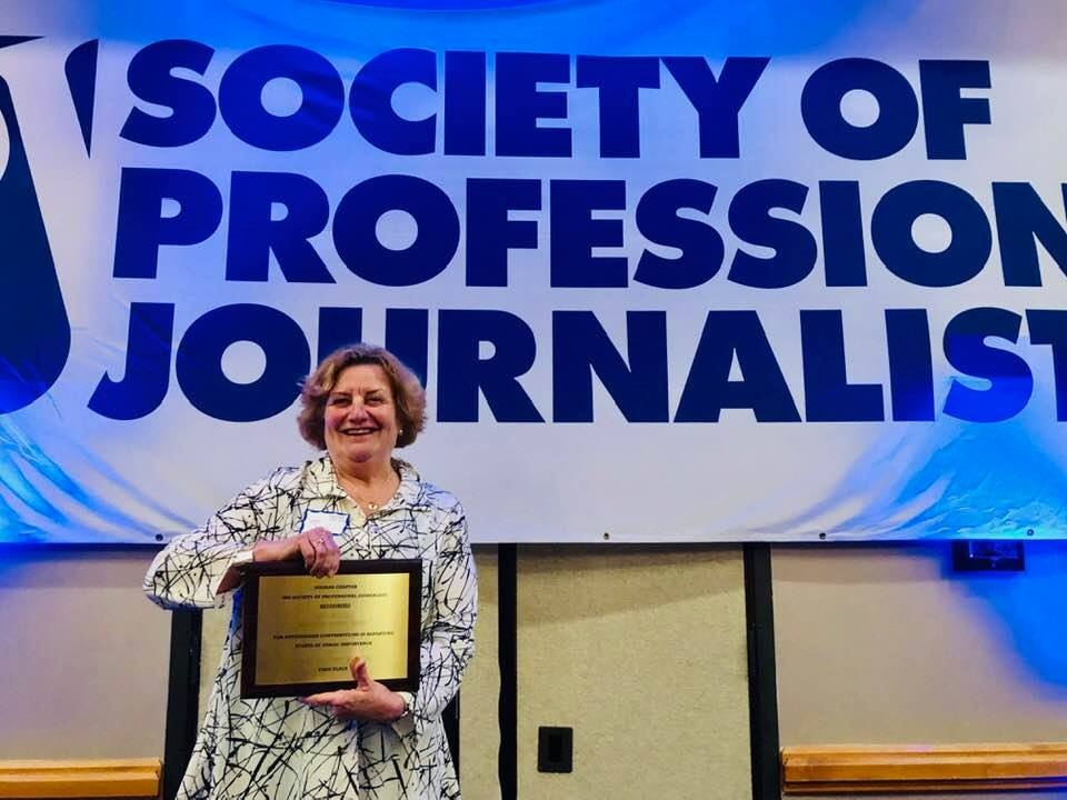Not-for-profit News' Sygiel wins SPJ award