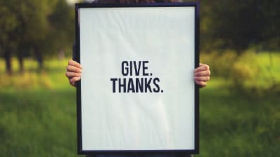 Expressing Gratitude for Those Who Have Invested in Others